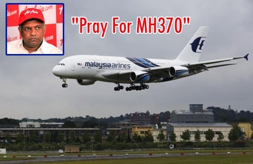Tony Fernandes Pray For MH370