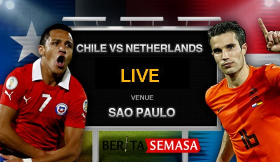 Siaran Langsung  Netherlands vs Chile